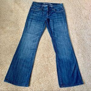 American Eagle Favorite Boyfriend Dark wash Jeans